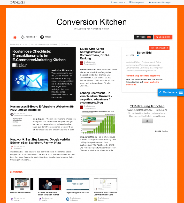 Conversion Kitchen